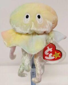 3cb74145c2c Image is loading Retired-Original-Ty-Beanie-Baby-Goochy-Jellyfish-Plush-