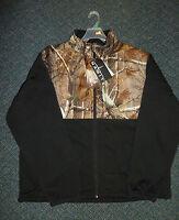 Habit By Mahco Outdoors Fleece Jacket Realtree Ap Camo & Black Fj1208-105