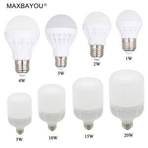B22-E27-Led-Lights-Bulb-20W15W10W5W4W3W2W1W-Cool-White-Warm-White-AC220-240V