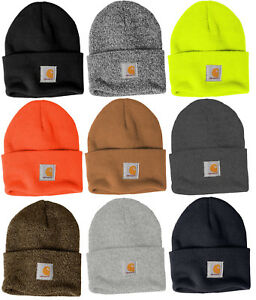 Carhartt Acrylic Watch Beanie Knit Men s Stocking Cap Warm Winter ... 5c7fd800fa0c