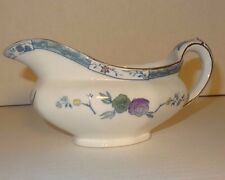Vintage ROYAL STAFFORDSHIRE POTTERIES Gravy Dish KO SHAN Pattern
