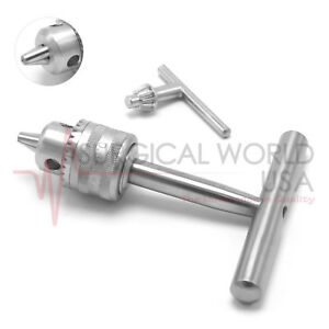 0983e466536f Tap Handle Drill With Key Double Action Small Bone Drill Orthopedic ...