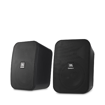 JBL Control X 2-Way 5-1/4-inch Monitor Indoor/Outdoor Speaker, Black