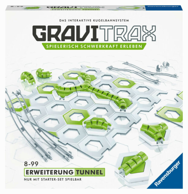 Ravensburger 27614 - Gravitrax Extensión Tunnel, Nuevo/Embalaje Original