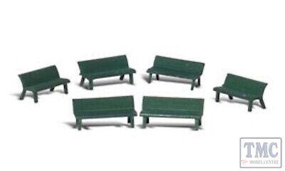 A2758 Woodland Scenics Painted Figures O Park Benches Ridurre Il Peso Corporeo E Prolungare La Vita