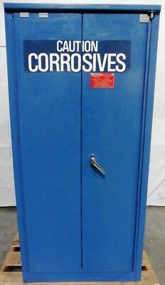 EAGLE M04CRA Corrosive Safety Cabinet Blue