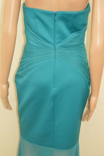 New Lipsy Navy Blue Ruched Maxi Dress Sz UK 12