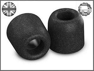 Comply-T-400-Isolation-Earphone-Tips-Medium-Black-3-Pairs