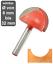 Indexbild 1 - Nutfräser Hohlkehlfräser HM (HW) Holz Kunststoff - Nutenfräser Grundschneidend