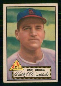 WALLY-WESTLAKE-1952-TOPPS-1952-NO-38-VGEX-BLACK-BACK-28049