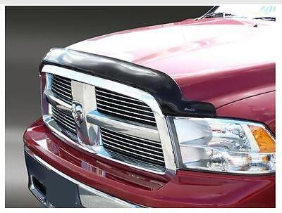 Hood Shield BUG DEFLECTOR Smoke 2008-2011 Dodge Dakota Stampede Products New