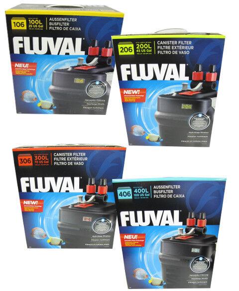 FLUVAL Außenfilter 106, 206, 306, 406 Aquariumfilter Aquarienfilter