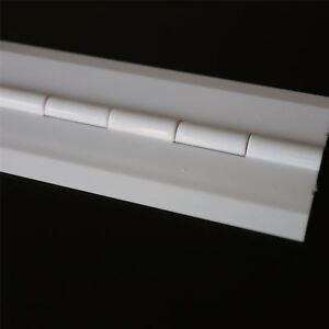 Acryl-Scharnier-300mm-x-38mm-WEIss-Scharniere-Bestaendige-Acryl-Acrylkunststoff