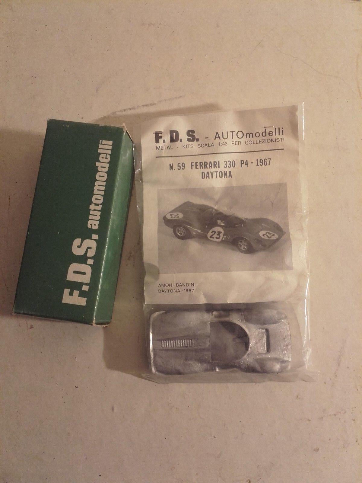 buena calidad Ferrari 330 p4  daytona mans 1967 1967 1967  kit fds neuf jamais ouverde  en venta en línea