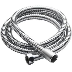 STAINLESS-STEEL-1-5M-CHROME-FLEXIBLE-BATHROOM-BATH-SHOWER-HEAD-HOSE-PIPE-WASHERS
