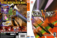 Giga Wing 2 Custom Dreamcast Case (no Game)