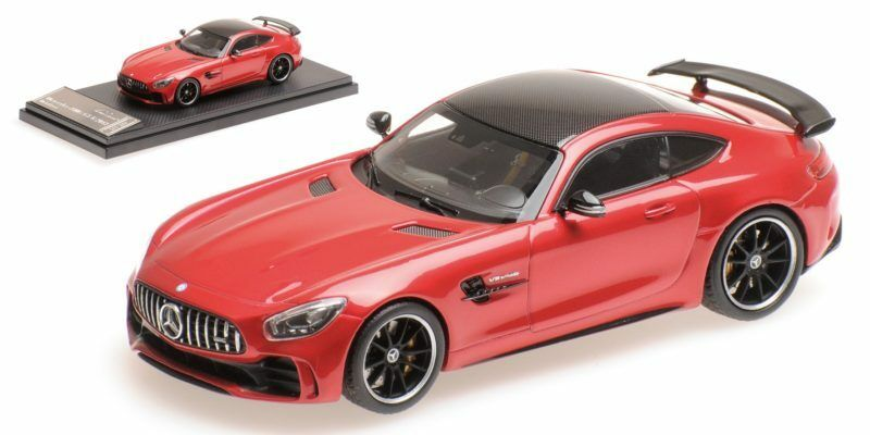 Mercedes Amg Gt R 2017 Metal rouge 1 43 Model ALMOST REAL