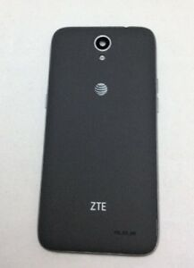 buy online 0aff6 42d2e Details about OEM AT&T ZTE MAVEN 3 Z835 REPLACEMENT GREY BACK COVER HOUSING  DOOR