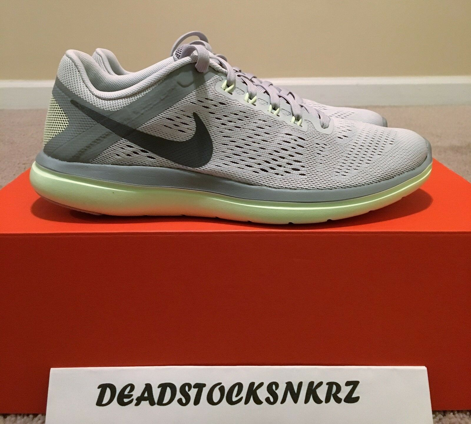 WMNS Nike Flex 2018 RN Pure Platinum/Cool  Gris  830751 011 Running Various Taille