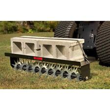 Tow Behind Spike Soil Aerator Lawn Garden Grass Universal Hitch Tractor 40 In.