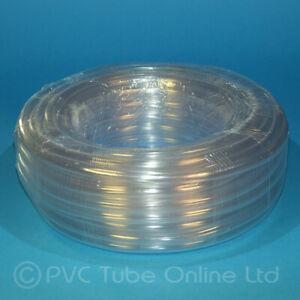 PVC Clear Plastic Tube/Hose - 30 Metre Rolls Bulk Quantities Standard Wall 1.5mm