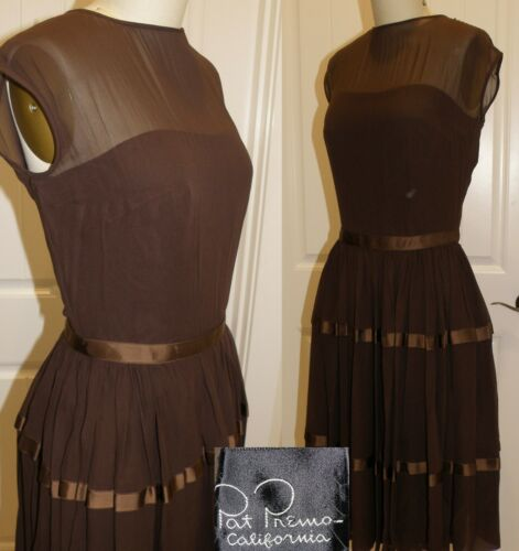 """VINTAGE 1960'S COCKTAIL PARTY DRESS BY """"PAT PREMO"""""""