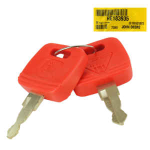 RE183935 Ignition Key For John Deere Tractor Equipment 4120 4210 4310 4520 4610