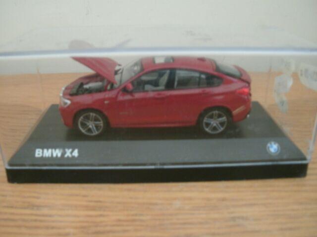 Modelli BMW, RARE BMW X4 Sports Saloon (rivenditori showroom modello), 1:43, in buonissima condizione.