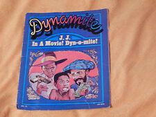Dynamite Magazine 1978: No. 21 + No. 46) The Beatles - Cosby - Jimmie Walker)OOP