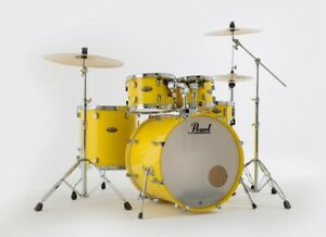 Pearl-Decade-Maple-Standard-Solid-Yellow-LIMITED-EDITION-Schlagzeug