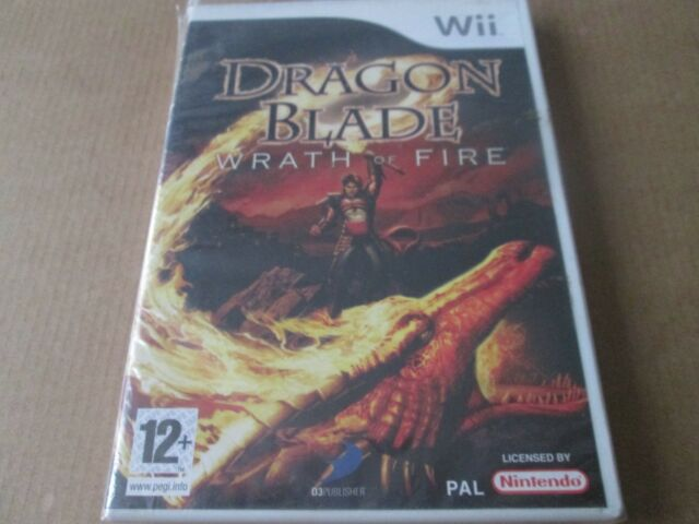 Dragon Blade: Wrath of Fire (Nintendo Wii, 2007) NEW AND SEALED PAL UK
