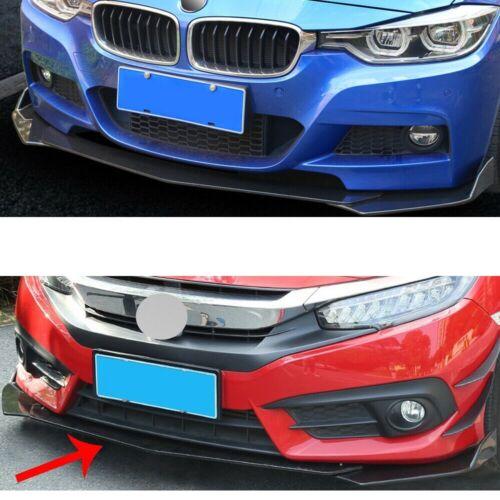 Carbon Paint Front alerón frontal astillas para bmw x4 solapas difusor Dumper labio