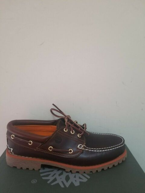 cheapest price newest collection cheap Timberland Men's Classic Boat 3-eye Handsewn Lug Shoes NIB
