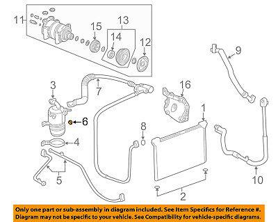 GM OEM AC AC CondenserCompressorLineAc Line Oring