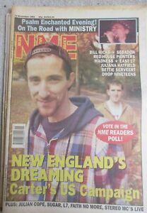 NEW MUSICAL EXPRESS NME MAGAZINE 14 NOVEMBER 1992  CARTER USM