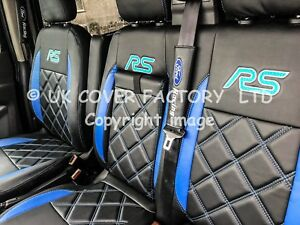 1+2 FORD TRANSIT CUSTOM LIMITED TREND SPORTS VAN SEAT COVER MADE 2 MEASURE CLOTH