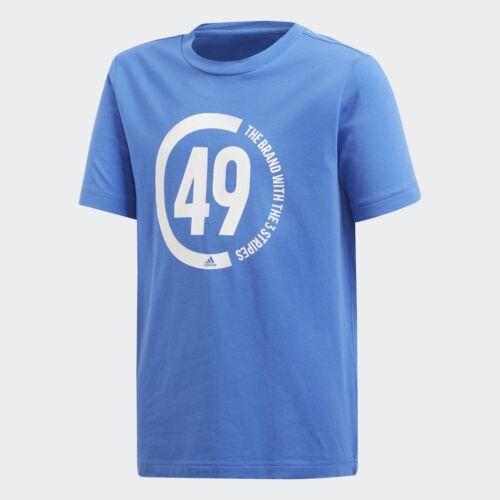 NEW adidas GRAPHIC Boys T Shirt Junior Crew Neck Tee Top Short Sleeve Print 7-16