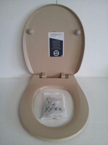"Pressalit Calmo WC Sitz Bahamabeige 556  Absenkautomatik /""Lift Off/"" abnehmbar"
