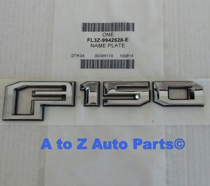 Chrome 3D New Blue 150 ABS OEM Car Rear Tailgate Emblem Nameplate with Buckle