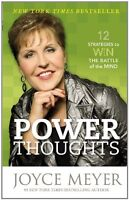 Power Thoughts: 12 Strategies To Win The Battle Of The Mind By Joyce Meyer, (pap on sale
