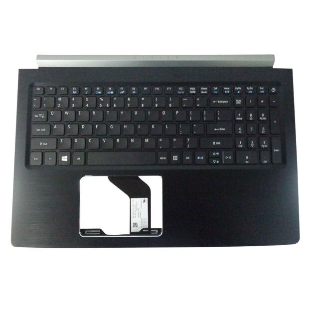 Acer Aspire 5 A515-51 A515-51G Palmrest & Non-Backlit Keyboard 6B.GP4N2.001