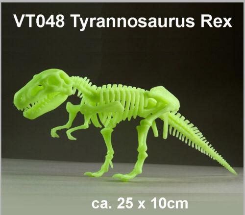 Tyrannosaurus Rex T-Tex nachtleuchtend Schnellbausatz