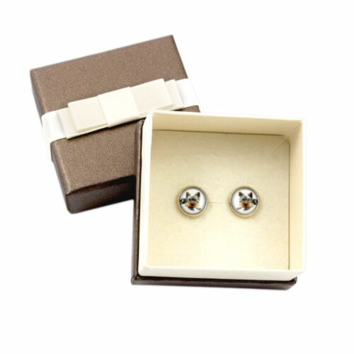 UK Photojewelry Handmade Earrings with box Yorkshire Terrier.Pet in your ear