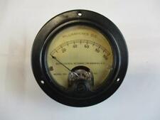 Vintage Weston Panel Meter Milliamperes Dc Model 301