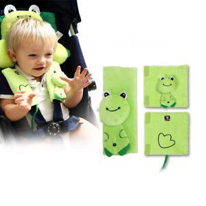 2x Baby Car Seat Belt Strap Cover Pad Stroller Highchair Pram Shoulder Protector