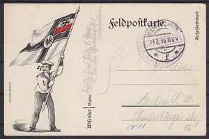 Marine Correo Militar Ii. Comp Ii. Ers. Vacío Bat De Wilhelmshaven - Berlín 1916