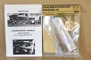 CHURCHWARD-MODELOS-Laton-kit-montado-gw-Gwr-BR-2-6-2-Loco-Chasis-Kit-NL