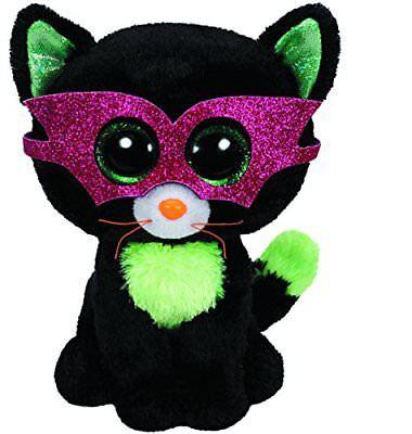 Stofftiere Realistisch Ty Jinxy Halloween Katze 15cm Mit Glitzeraugen Beanie Boo's Plüschtier Spielzeug