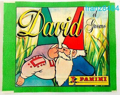 DAVID el Gnomo BUSTINA FIGURINE PANINI 1986 vers Spagnola SEALED RARA NEW