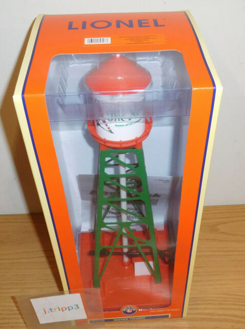 Lionel 84797 Christmas Industrial Water Tower Train Accessory O Gauge North Pole for sale online